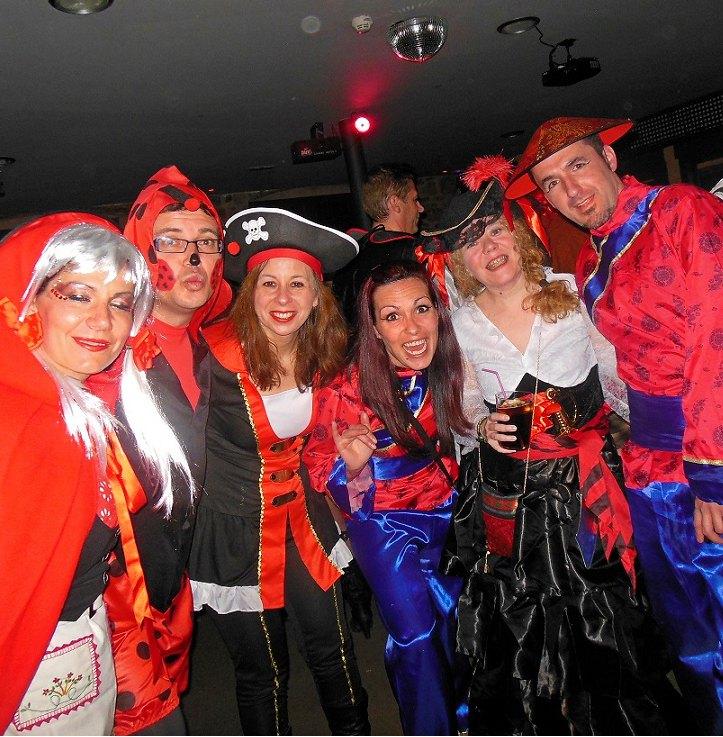 Carnaval en grupo